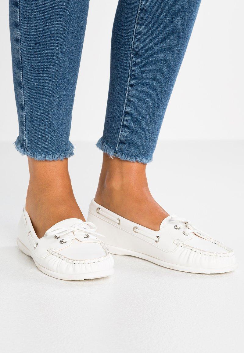 Anna Field - Bootsschuh - white