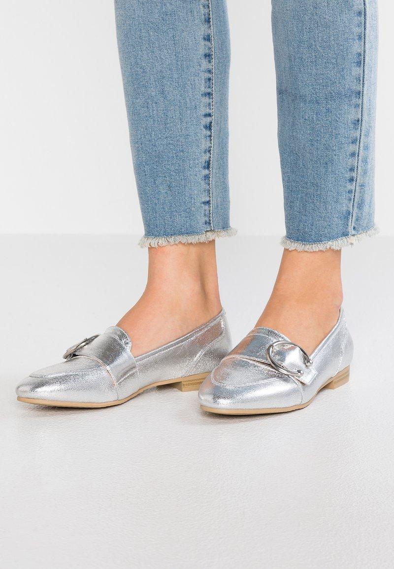 Anna Field - Slip-ons - silver
