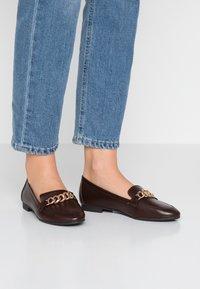 Anna Field - Nazouvací boty - cognac - 0