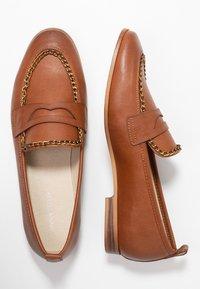 Anna Field - Nazouvací boty - cognac - 3