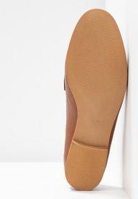 Anna Field - Nazouvací boty - cognac - 6