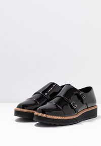 Anna Field - Loaferit/pistokkaat - black - 4