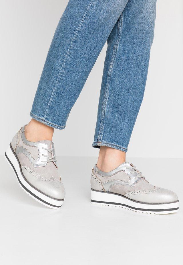 Stringate - grey
