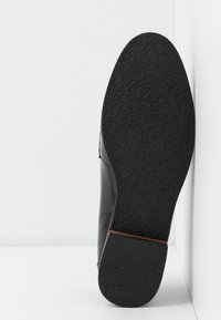 Anna Field - LEATHER SLIP-ONS - Slippers - black - 6