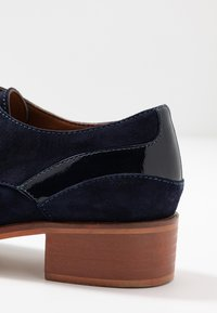 Anna Field - LEATHER LACE-UPS - Derbies - dark blue - 2