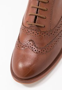 Anna Field - LEATHER LACE-UPS - Lace-ups - cognac - 2