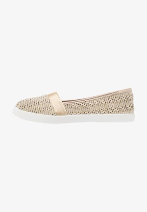Loaferit/pistokkaat - beige