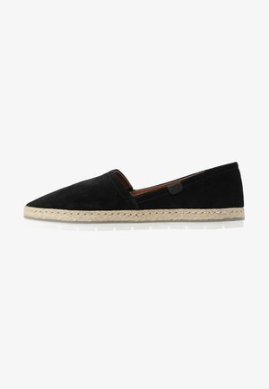 LEATHER - Loafers - black