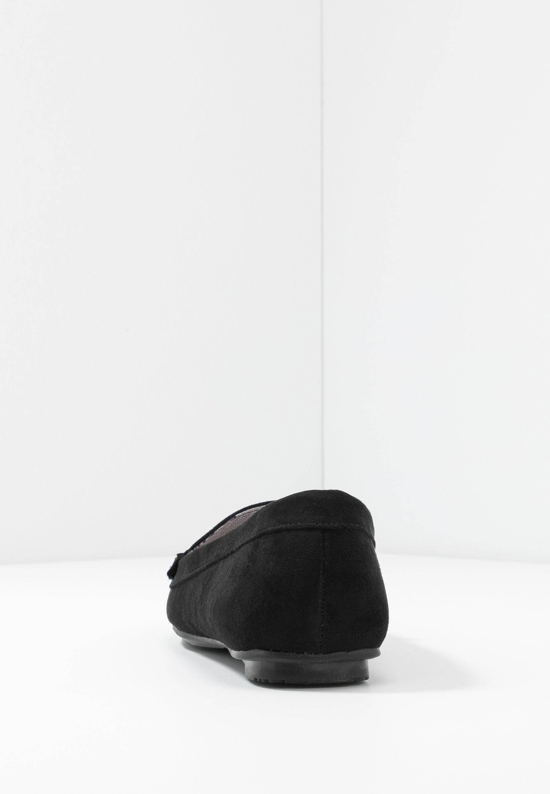 Anna Field Mocassins - black