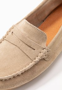 Anna Field - LEATHER MOCCASINS - Mocasines - beige