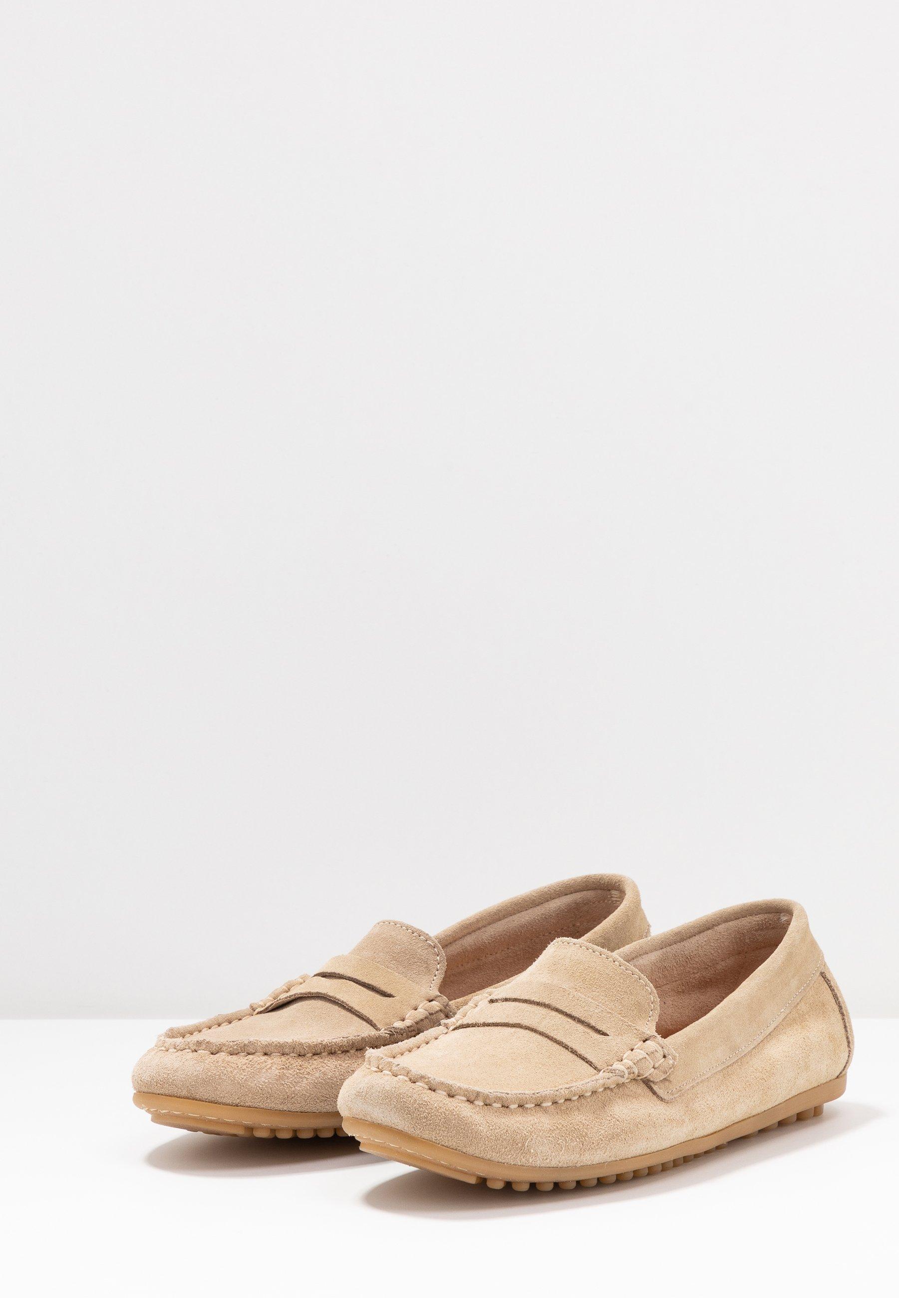 Anna Field Leather Moccasins - Mocassins Beige Goedkope Schoenen