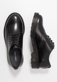 Anna Field - LEATHER - Lace-ups - black - 3