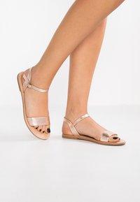 Anna Field - Sandals - rose gold - 0