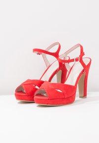 Anna Field - High heeled sandals - red - 4