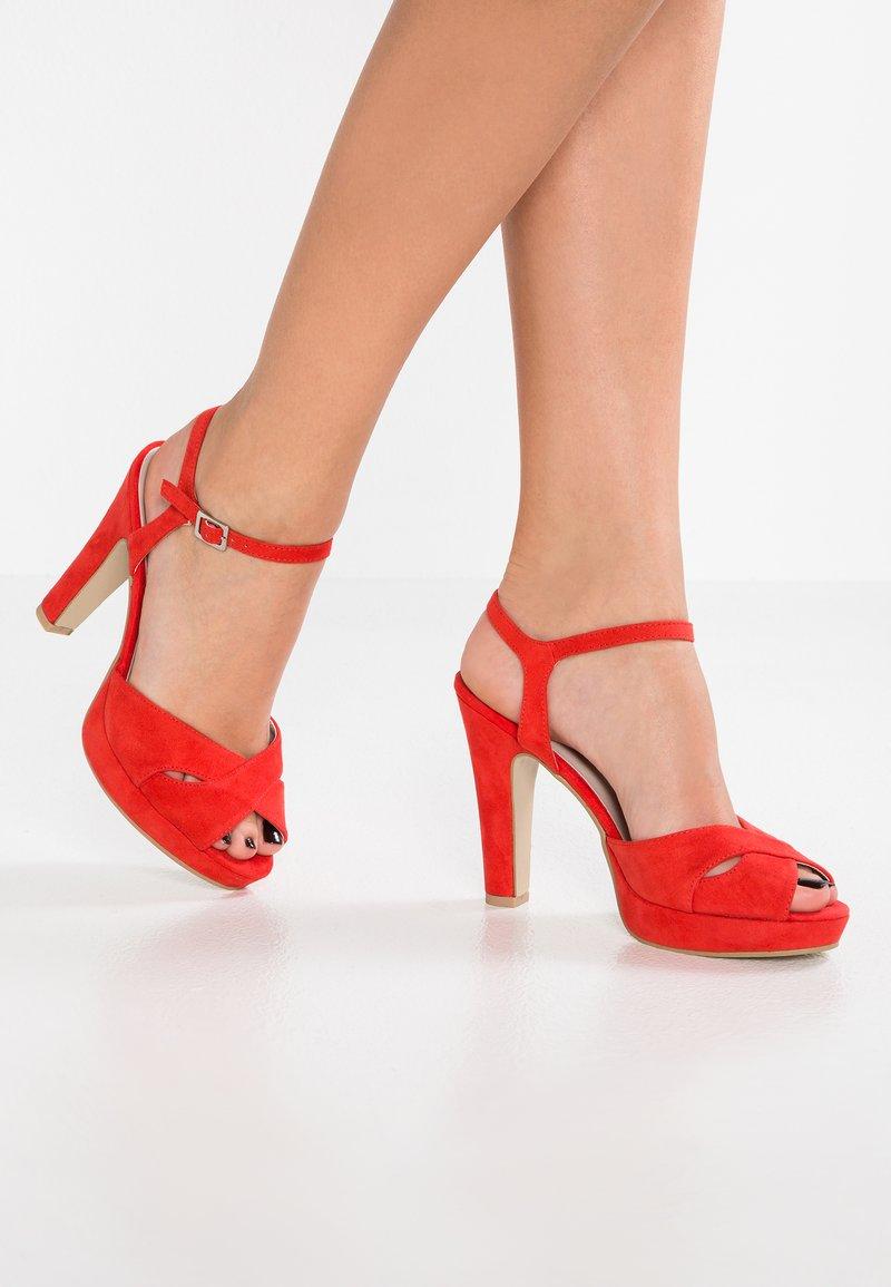 Anna Field - High heeled sandals - red