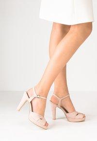 Anna Field - High heeled sandals - soft pink - 0