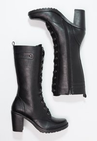Anna Field - Lace-up boots - black - 2