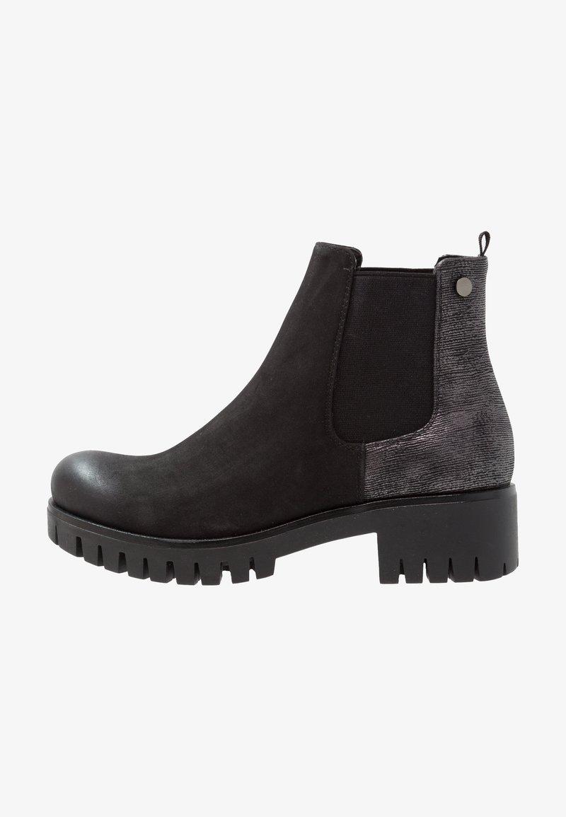 Anna Field - Kotníkové boty na platformě - black