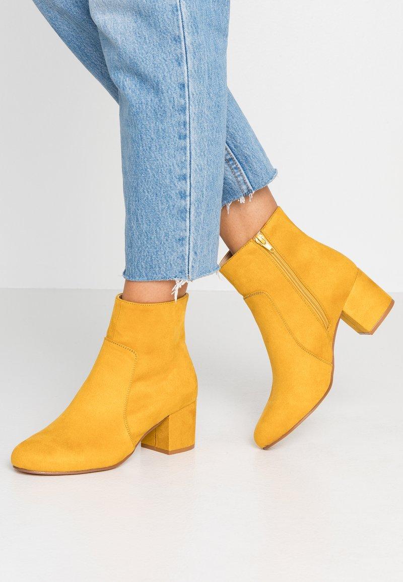 Anna Field - Støvletter - yellow