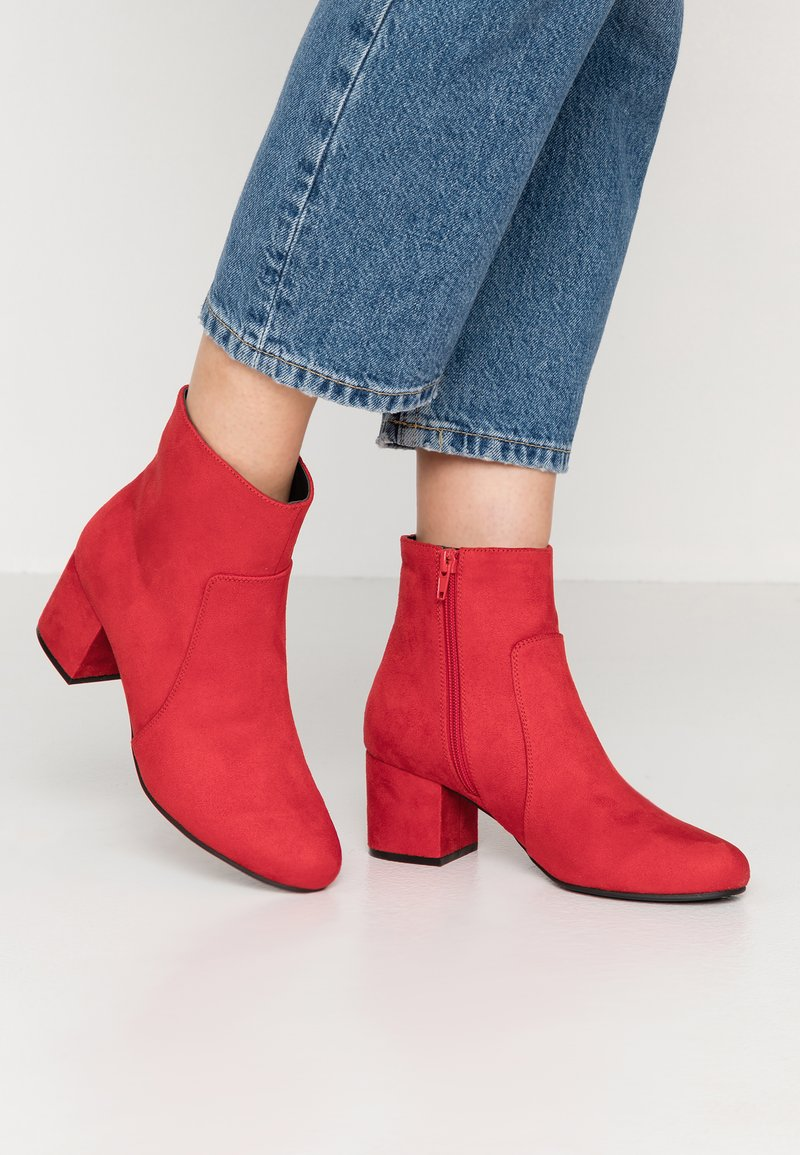 Anna Field - Classic ankle boots - red