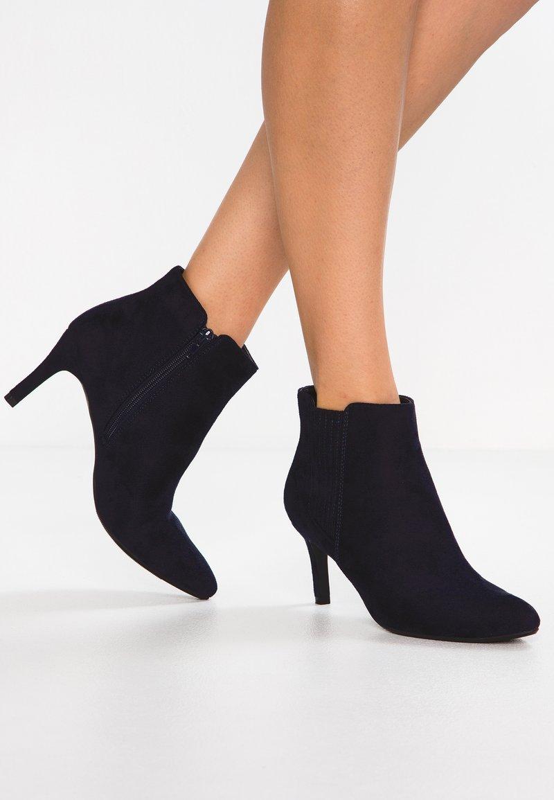 anna field ankle boot dark blue. Black Bedroom Furniture Sets. Home Design Ideas