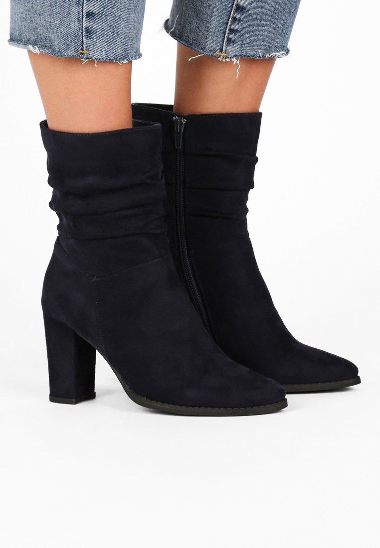 Anna Field - High Heel Stiefelette - dark blue