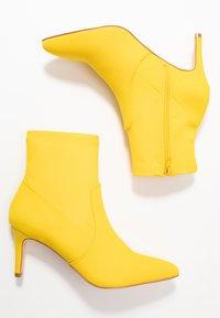 Anna Field - Kotníkové boty - neon yellow - 3