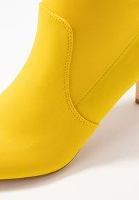 Anna Field - Kotníkové boty - neon yellow - 2