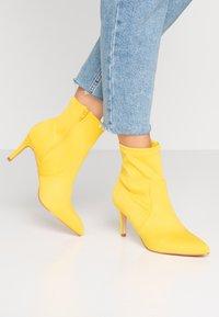 Anna Field - Kotníkové boty - neon yellow - 0