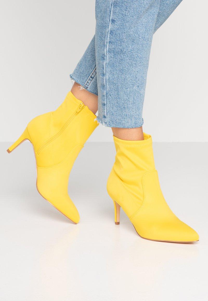 Anna Field - Kotníkové boty - neon yellow