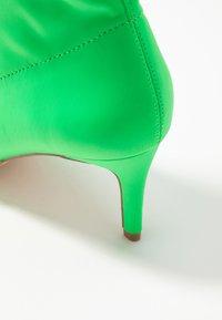 Anna Field - Kotníkové boty - neon green - 2