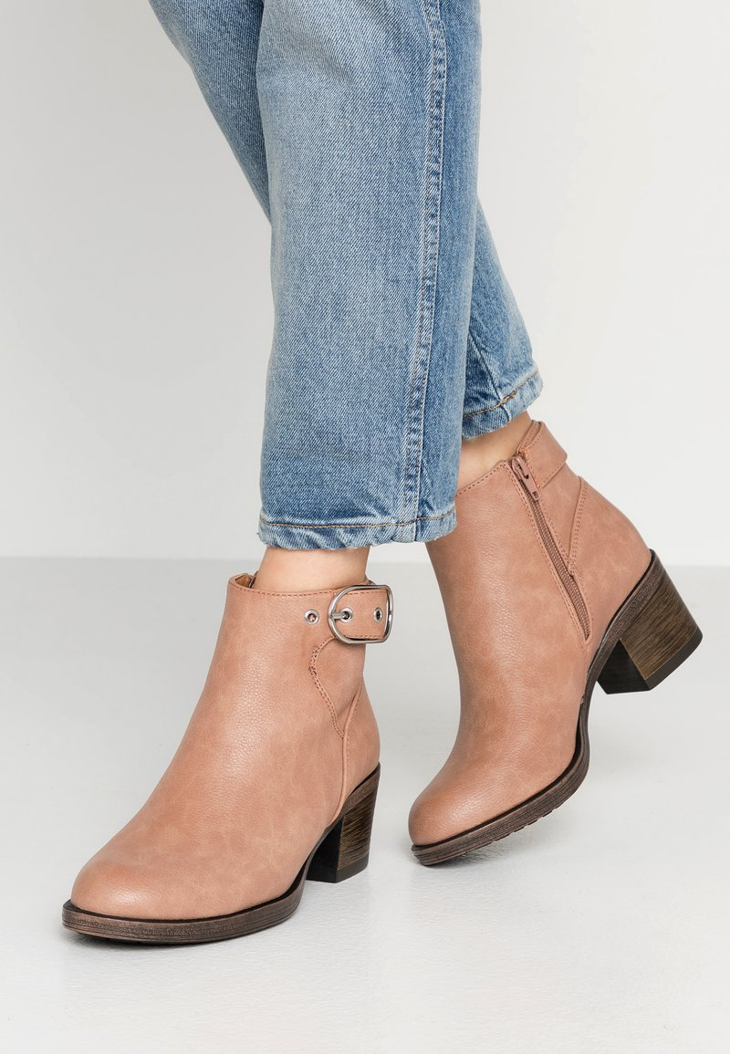 Anna Field - Ankle boots - rose