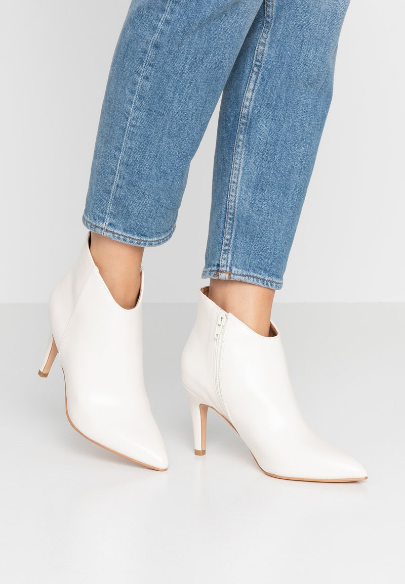 Anna Field - High heeled ankle boots - offwhite