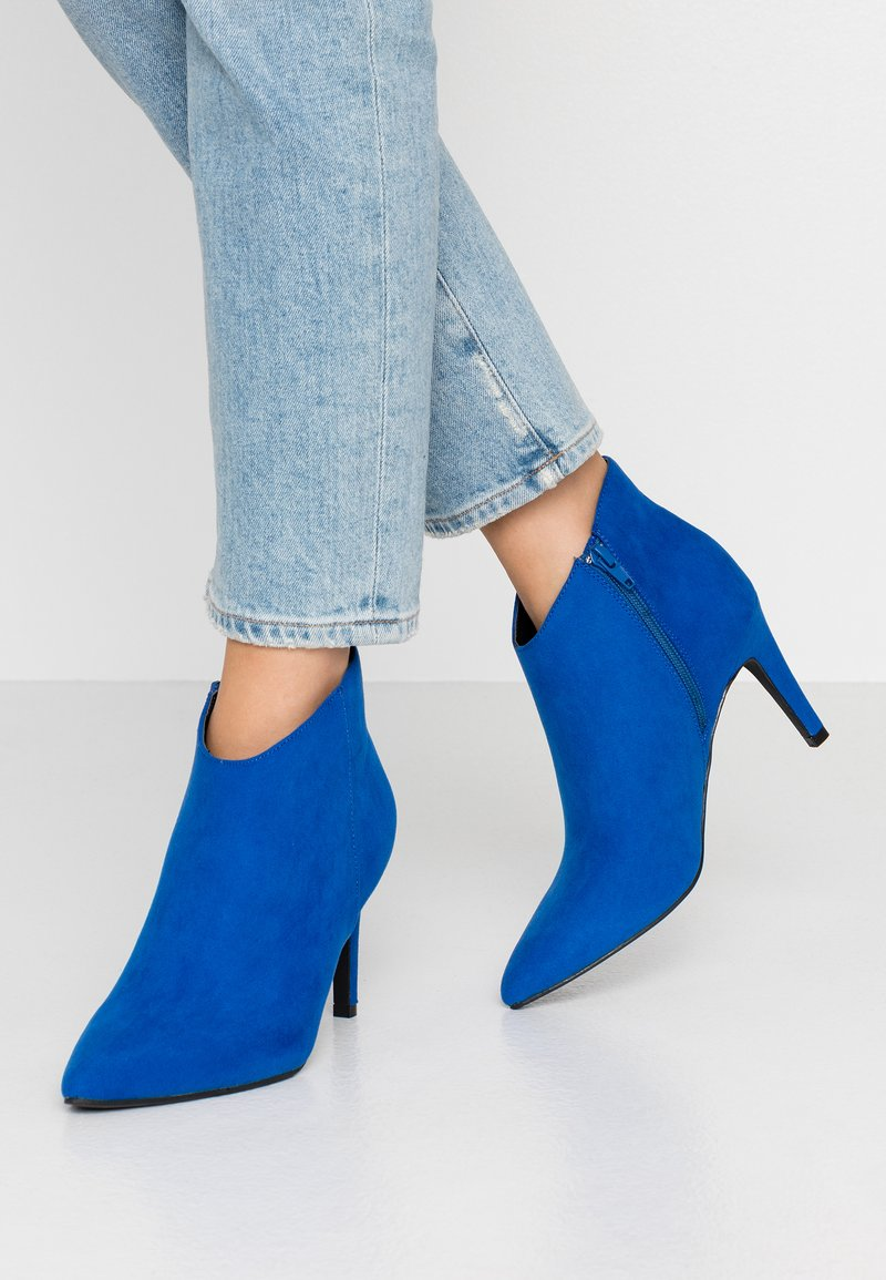 Anna Field - High heeled ankle boots - blue