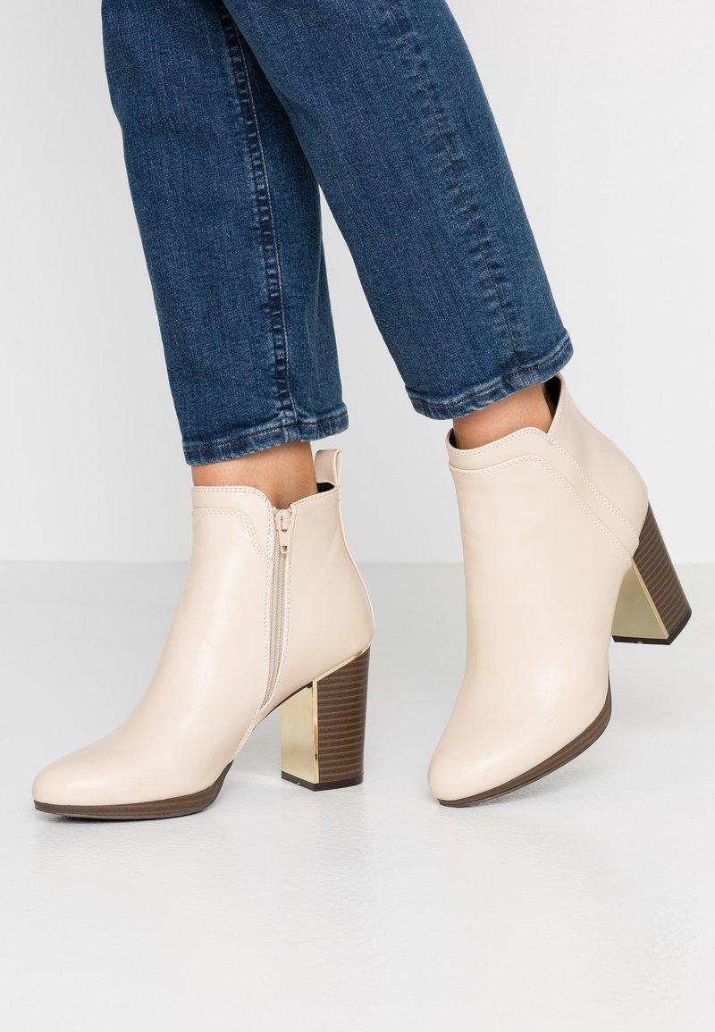 Anna Field - High Heel Stiefelette - offwhite