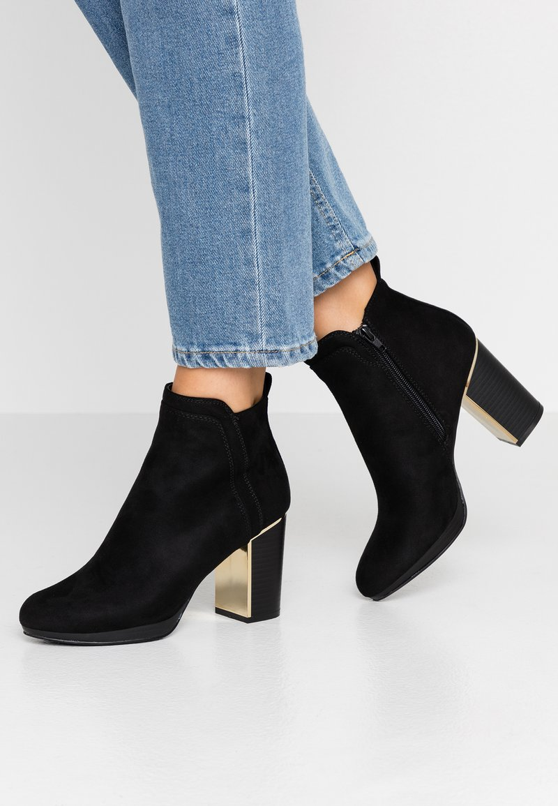 Anna Field - High heeled ankle boots - black