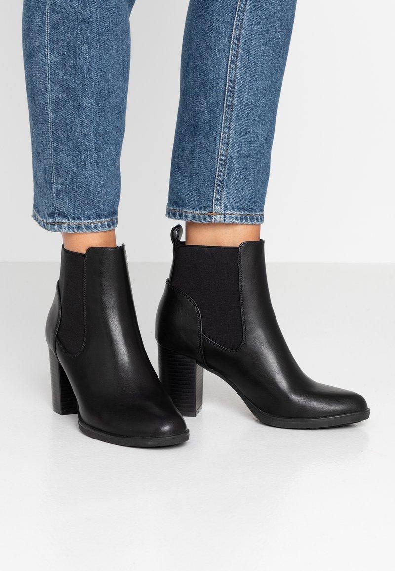 Anna Field - Kotníková obuv na vysokém podpatku - black