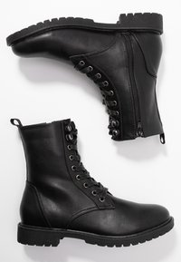 Anna Field - Bottines à lacets - black - 3