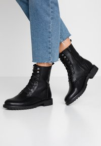 Anna Field - Bottines à lacets - black - 0