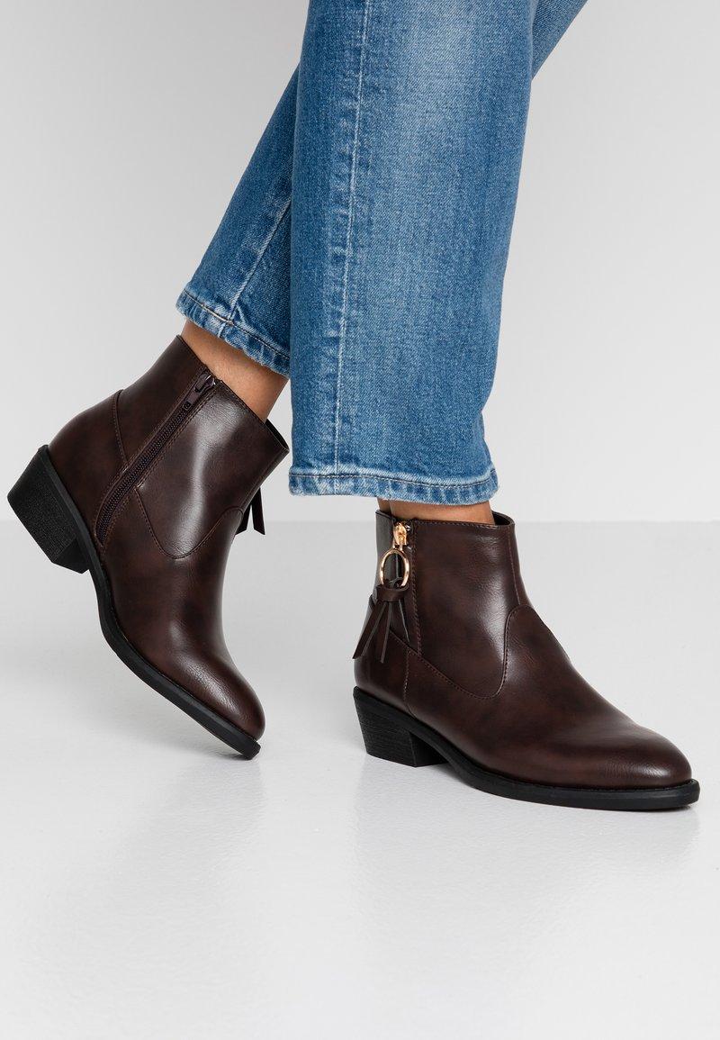 Anna Field - Kotníková obuv - dark brown