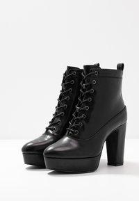Anna Field - Kotníková obuv na vysokém podpatku - black - 4