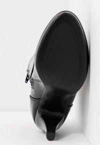 Anna Field - Ankelboots med høye hæler - black - 6