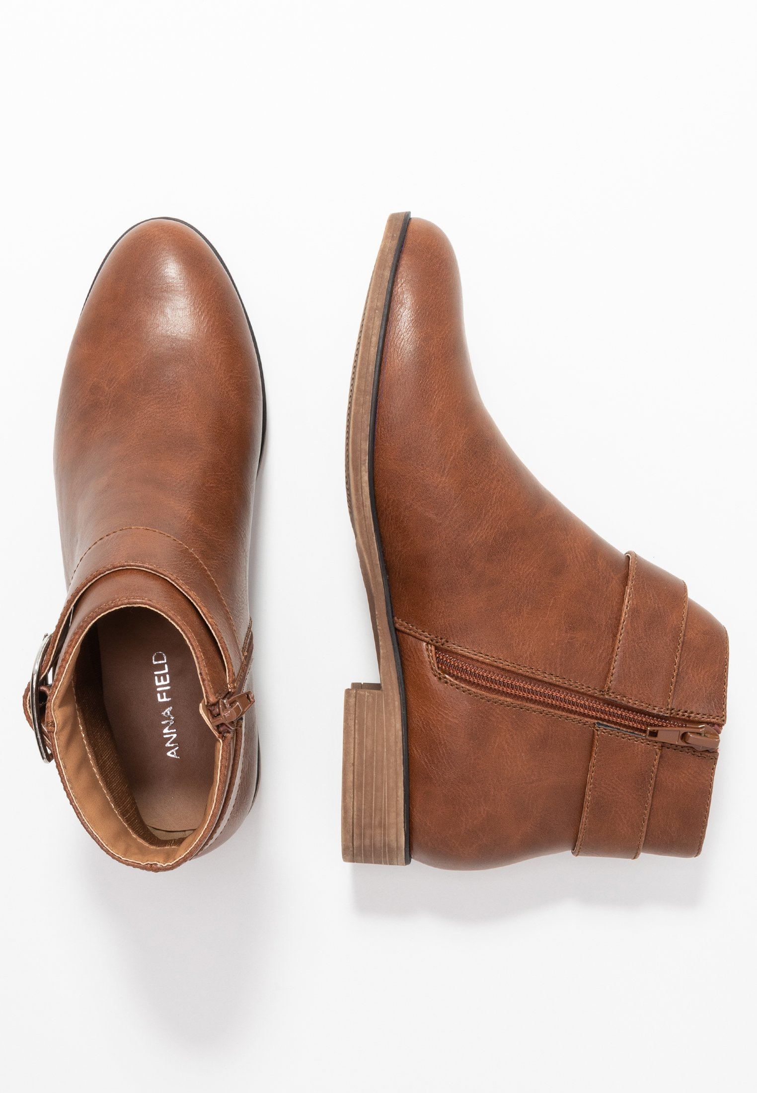 Anna Field Ankle boot - cognac