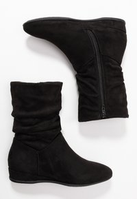 Anna Field - Wedge Ankle Boots - black - 3