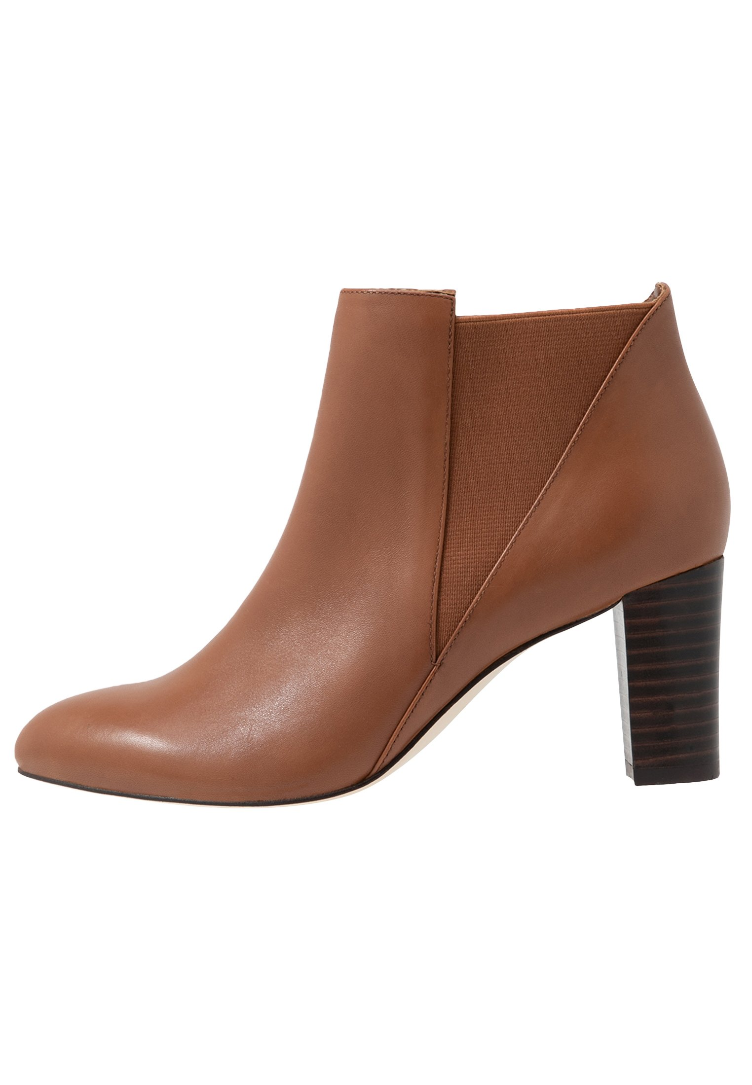 Anna Field Leather Booties - Stivaletti Cognac M8nWKfZ