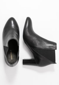 Anna Field - LEATHER BOOTIES - Botines - black - 3