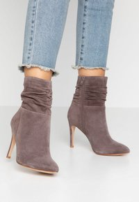 Anna Field - LEATHER BOOTIES - Classic ankle boots - brown - 0