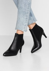 Anna Field - LEATHER BOOTIES - Stiefelette - black - 0