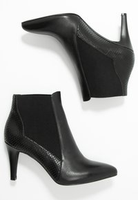 Anna Field - LEATHER BOOTIES - Stiefelette - black - 3