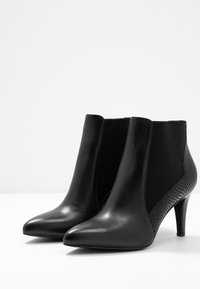 Anna Field - LEATHER BOOTIES - Stiefelette - black - 4